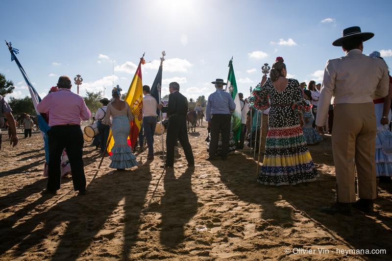 Processions during Rocio