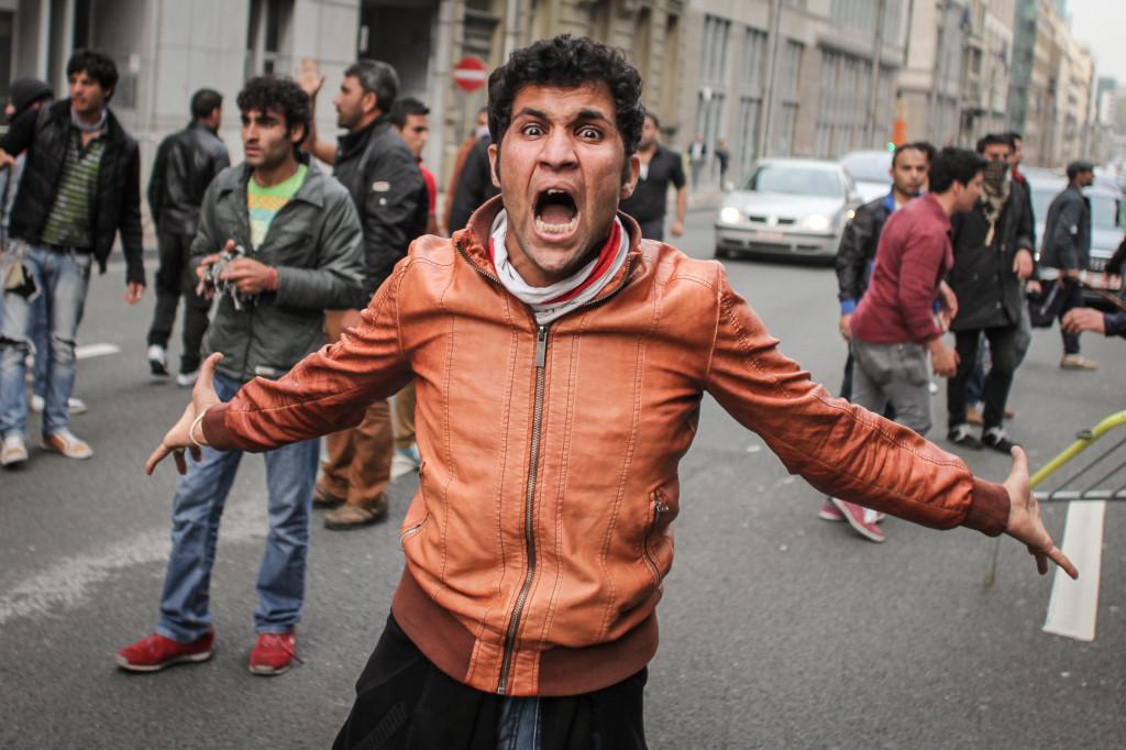 Réfugiés Aghans à Bruxelles