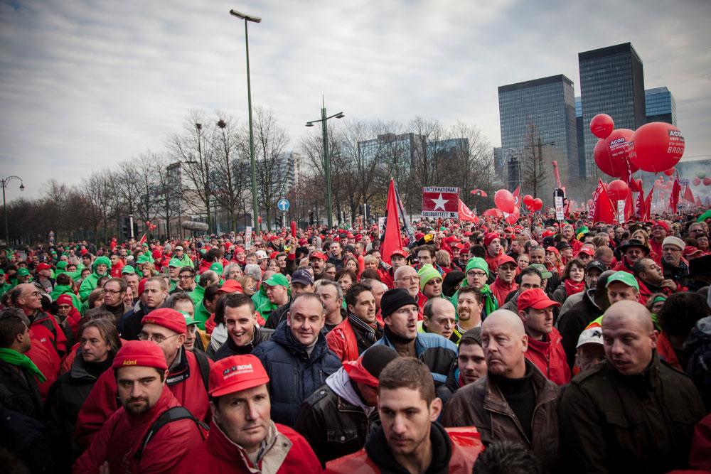 Unionists national strike